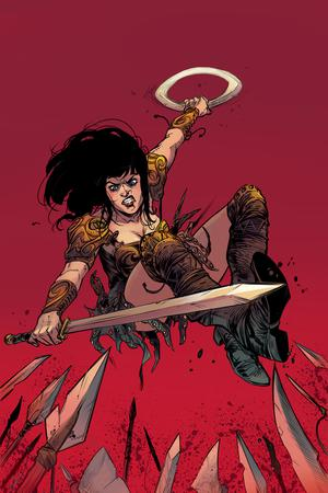 Xena Vol 2 #4 Cover C Incentive Ig Guara Virgin Cover