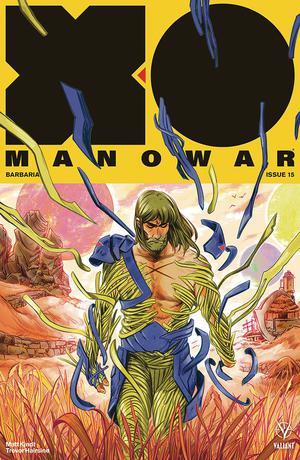 X-O Manowar Vol 4 #15 Cover D Incentive Veronica Fish Interlocking Variant Cover