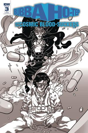 Bubba Ho-Tep And The Cosmic Blood-Suckers #3 Cover C Incentive Baldemar Rivas Variant Cover