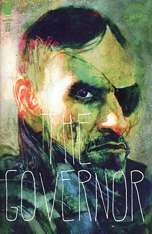 Walking Dead #177 Cover B Variant Bill Sienkiewicz Cover