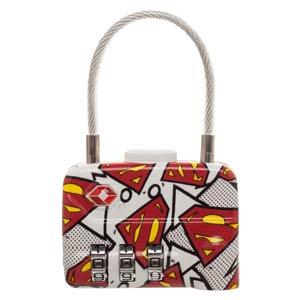 DC Comics TSA Combination Cable Lock - Superman