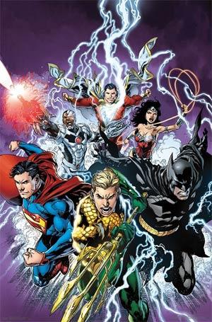Justice League Movie Bolt Poster
