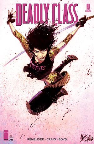 Deadly Class #35 Cover B Variant Daniel Warren Johnson Cover