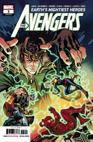 Avengers Vol 7 #3 Cover A Regular Ed McGuinness Cover