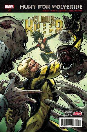 Hunt For Wolverine Claws Of A Killer #2 Cover A Regular Greg Land Cover