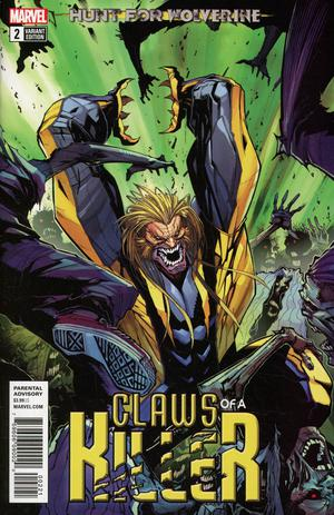 Hunt For Wolverine Claws Of A Killer #2 Cover B Variant Gerardo Sandoval Cover