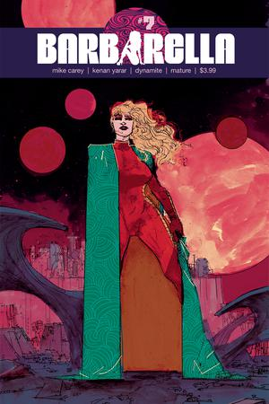 Barbarella #7 Cover B Variant Hayden Sherman Cover