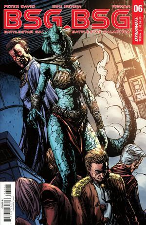 Battlestar Galactica vs Battlestar Galactica #6 Cover B Variant Johnny Desjardins Cover