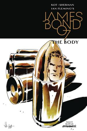 James Bond The Body #6 Cover A Regular Luca Casalanguida Cover