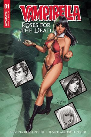 Vampirella Roses For The Dead #1 Cover A Regular Joseph Michael Linsner Cover