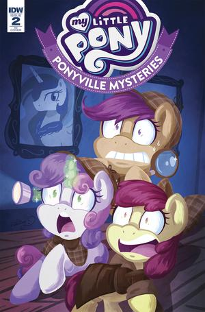 My Little Pony Ponyville Mysteries #2 Cover C Incentive Abigail Starling Variant Cover