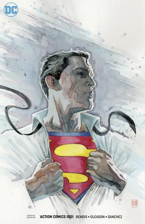 Action Comics Vol 2 #1001 Cover C Variant David Mack Cover