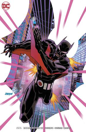 Batman Beyond Vol 6 #22 Cover B Variant Dave Johnson Cover