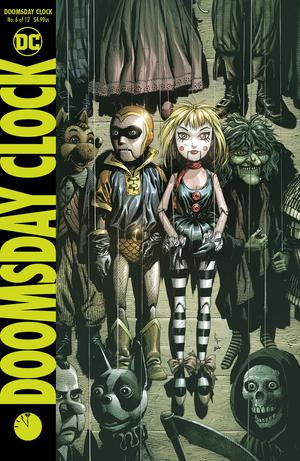 Doomsday Clock #6 Cover A Regular Gary Frank Cover
