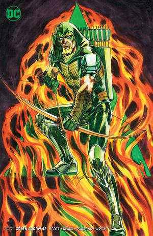 Green Arrow Vol 7 #42 Cover B Variant Mike Grell Cover