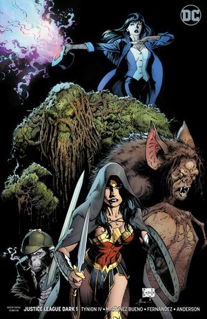Justice League Dark Vol 2 #1 Cover B Variant Greg Capullo & Jonathan Glapion Cover