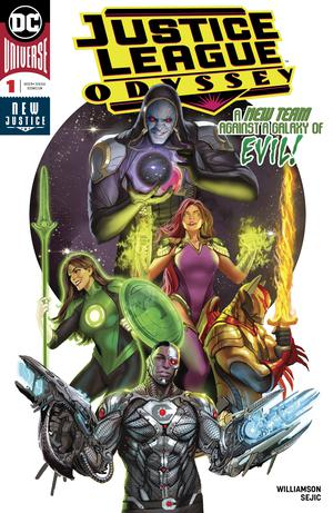 Justice League Odyssey #1 Cover A Regular Stjepan Sejic Cover