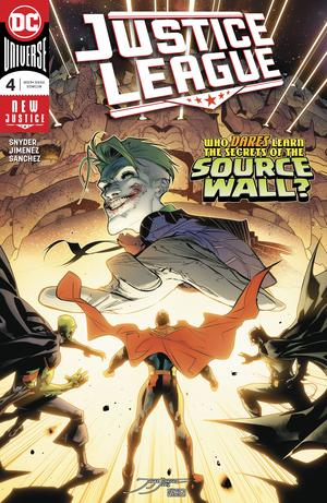 Justice League Vol 4 #4 Cover A Regular Jorge Jimenez Cover