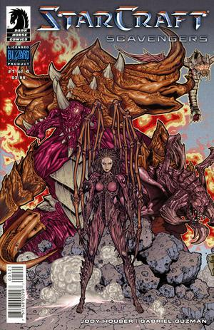 Starcraft Scavengers #1 Cover B Variant Timothy Green II Cover