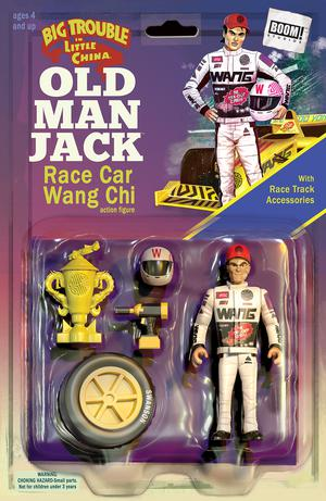 Big Trouble In Little China Old Man Jack #11 Cover B Variant Michael Adams & Marco DAlfonso Action Figure Subscription Cover