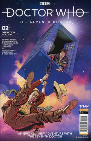 Doctor Who 7th Doctor #2 Cover A Regular Christopher Jones Cover