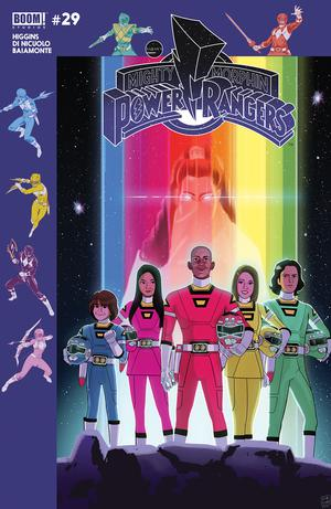 Mighty Morphin Power Rangers (BOOM Studios) #29 Cover B Variant Jordan Gibson Subscription Cover (Shattered Grid Part 5)