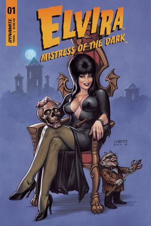 Elvira Mistress Of The Dark Vol 2 #1 Cover A Regular Joseph Michael Linsner Cover