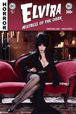 Elvira Mistress Of The Dark Vol 2 #1 Cover F Variant Photo Subscription Cover