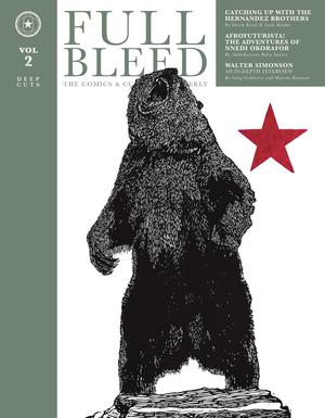 Full Bleed Comics & Culture Quarterly Vol 2 Deep Cuts HC