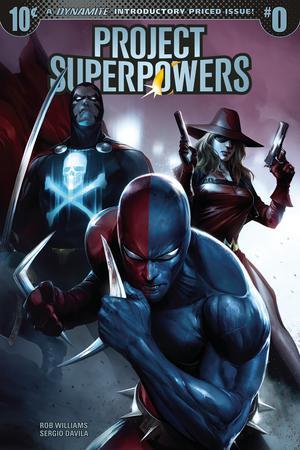 Project Superpowers Vol 3 #0 Cover A Regular Francesco Mattina Cover