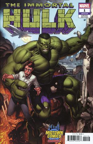 Immortal Hulk #1  Midtown Exclusive Dale Keown Cover