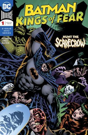 Batman Kings Of Fear #1 Cover A Regular Kelley Jones Cover