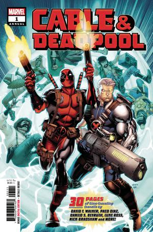 Cable Deadpool Annual #1 Cover A Regular Chris Stevens Cover