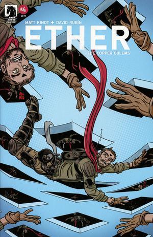 Ether Copper Golems #4 Cover B Variant Michael Allred Cover