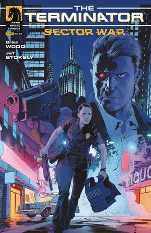 Terminator Sector War #1 Cover A Regular Robert Sammelin Cover