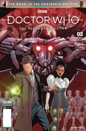 Doctor Who Road To The 13th Doctor #2 11th Doctor Cover C Variant Pasquale Qualano & Dijjo Lima Cover