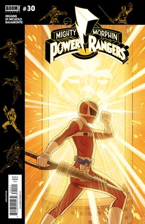 Mighty Morphin Power Rangers (BOOM Studios) #30 Cover B Variant Jordan Gibson Subscription Cover (Shattered Grid Tie-In)