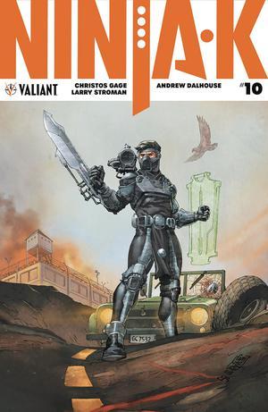 Ninja-K #10 Cover A Regular Giuseppe Camuncoli Cover