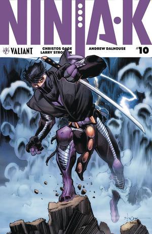 Ninja-K #10 Cover B Variant Larry Stroman Cover