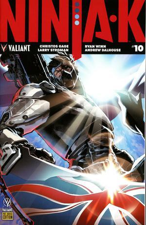 Ninja-K #10 Cover C Variant Philip Tan Cover