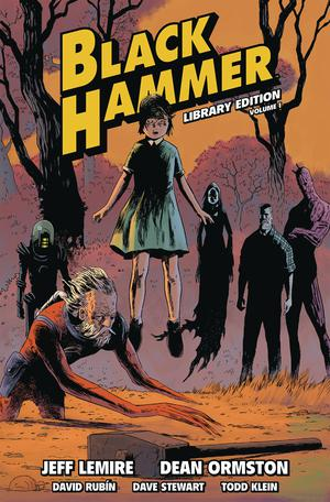 Black Hammer Library Edition Vol 1 HC