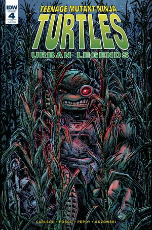 Teenage Mutant Ninja Turtles Urban Legends #4 Cover C Incentive Kevin Eastman Variant Cover