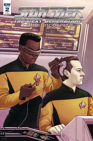 Star Trek The Next Generation Terra Incognita #2 Cover C Incentive Elizabeth Beals Variant Cover