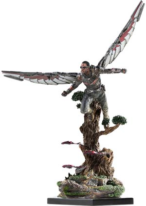Falcon Avengers Infinity War Art Scale 1/10 Scale Battle Diorama Series Statue