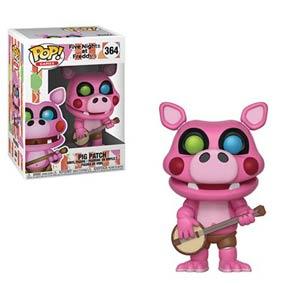POP Games 364 Five Nights At Freddys Pizza Sim Pigpatch Vinyl Figure