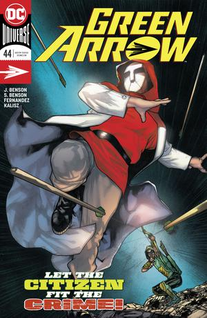 Green Arrow Vol 7 #44 Cover A Regular Alex Maleev Cover