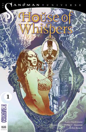 House Of Whispers #1 Cover B Variant Bill Sienkiewicz Cover