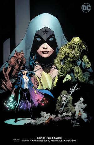 Justice League Dark Vol 2 #3 Cover B Variant Greg Capullo & Jonathan Glapion Cover