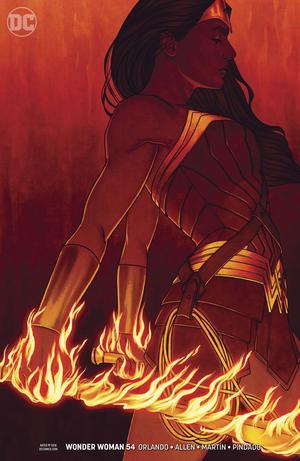 Wonder Woman Vol 5 #54 Cover B Variant Jenny Frison Cover