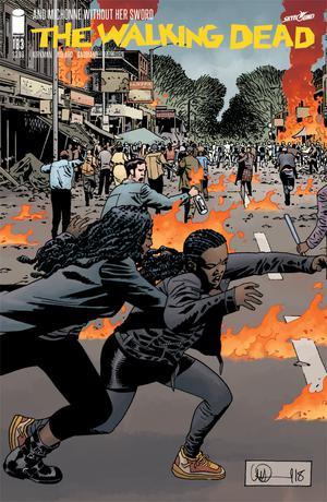 Walking Dead #183 Cover A Regular Charlie Adlard & Dave Stewart Cover
